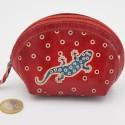 Porte monnaie Macha asia rouge gecko