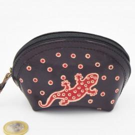 Porte monnaie Macha asia noir gecko