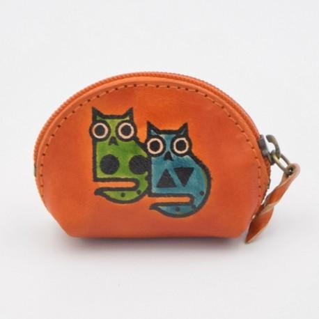 Porte monnaie Macha Art chats oranges