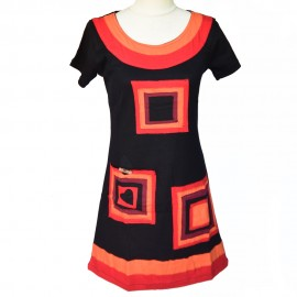 robe-tunique Elena rouge