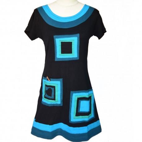 robe-tunique Elena bleu