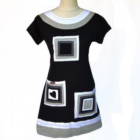 robe-tunique Elena blanche
