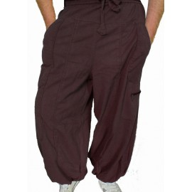 Pantalon ethnique Storm choco