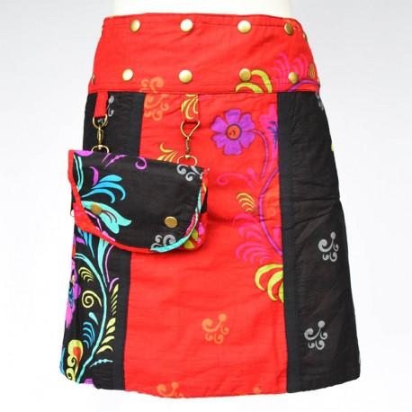 5b0a84dce4e164 jupe portefeuille réversible Red sun4,ethnique,baba-cool,hippie,teuf