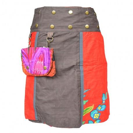 c7986ac68ba5ab jupe portefeuille réversible Red sun5,ethnique,baba-cool,hippie,teuf
