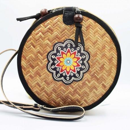 Sac ethnique Macha Bambou Tambour