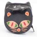 Porte monnaie Macha chat noir