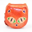 Porte monnaie Macha chat orange