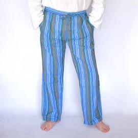 Pantalon coolman bleu