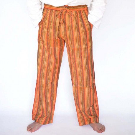 Pantalon coolman orange