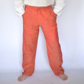 Pantalon coolman orange uni