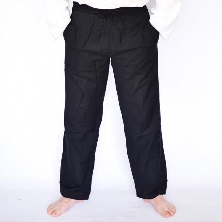 Pantalon coolman noir uni