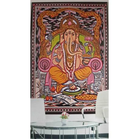 Tenture ethnique Ganesha 10