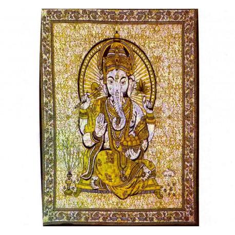 Tenture ethnique Ganesha4