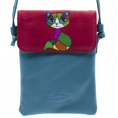 pochette Macha Babacuir moutarde