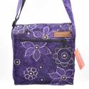 Sacoche Macha Maliprint violette