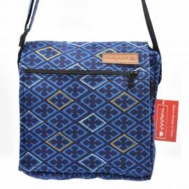 Sacoche Macha Maliprint bleue