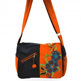 Sac ethnique Rimba orange