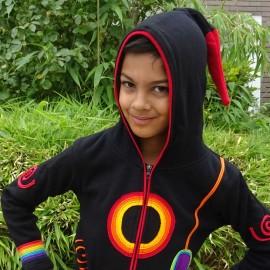 Gilet Ethnique enfant Rainbow doublé