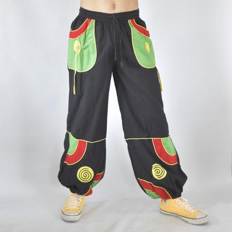 Pantalon ethnique Cosmic rasta