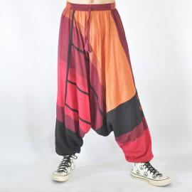 Sarouel ethnique Tinga rouge